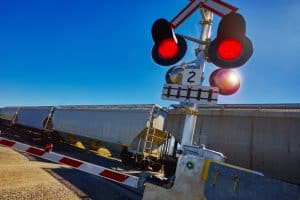 Cars Must Take Extra Care at Railroad Crossings